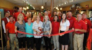 Boaz Dept Store Ribbon Cutting