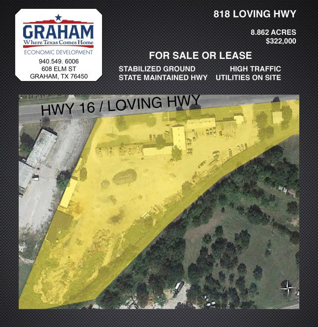 8.862 Acres on Loving Highway