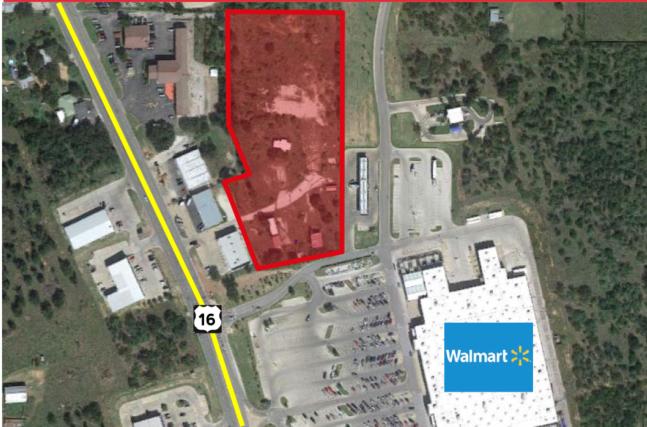 4.81 Acres Next to Walmart
